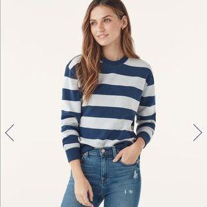 """NWT💙SPLENDID-""""Normandie Stripe Top"""" - XL"""